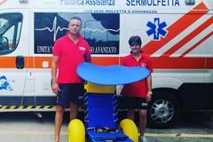 Il SerMolfetta aiuterà i disabili nell'accesso al mare a Cala Sant'Andrea