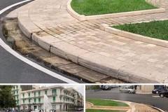 Già guasta la nuova fontana in Piazza Moro a Molfetta?