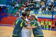 Aquile Molfetta, cinque gol e vittoria al PalaPoli
