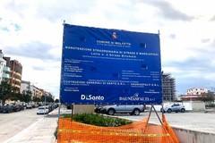 Lunedì 13 gennaio: iniziano i lavori di manutenzione alle strade di Molfetta