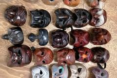 """Maschere rubate nei pressi della """"Cittadella degli Artisti"""", ritrovate nelle campagne di Molfetta"""