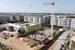 Proseguono i lavori di ampliamento alla sede comunale di Molfetta. Le foto