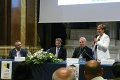 Francesco Giorgino a Molfetta per la fine della visita pastorale di mons. Cornacchia alle attività produttive