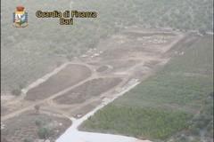 Rifiuti pericolosi sotterrati, sequestrata un'area al confine con Terlizzi