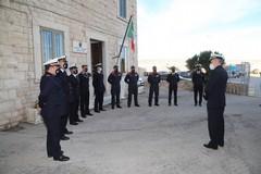 Guardia Costiera, l'ammiraglio Pettorino in visita a Molfetta