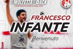 Colpaccio Pavimaro Molfetta: arriva Francesco Infante