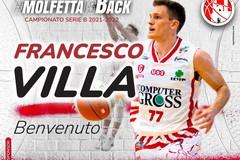 Il playmaker Francesco Villa alla Pavimaro Pallacanestro Molfetta