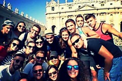 I giovani del Sacro Cuore volontari a Roma nei luoghi della carità