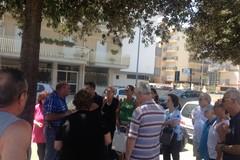 Protesta dei parenti del Centro Disabili a Lama Scotella