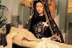 La Pietà di Giulio Cozzoli in Cattedrale per la visita pastorale del Vescovo