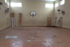 Scuola elementare don Cosmo Azzollini: al via i lavori per la ristrutturazione della palestra