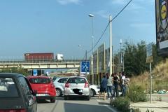 Due auto si scontrano in zona Asi: incidente nel cuore della zona industriale