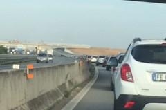 Tamponamento sulla SS16 bis, traffico rallentato
