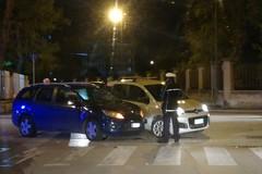Piazza Gramsci:  scontro tra due auto. Polizia Municipale sul posto