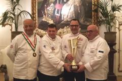 """Alla Associazione cuochi baresi assegnata dalla Federazione la """"Coppa delle Associazioni"""""""