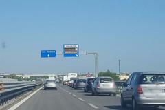 Tamponamento sulla SS16 bis a Molfetta, traffico rallentato