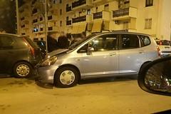 Incidente nei pressi dell'ospedale di Molfetta, tre auto coinvolte