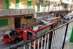 A fuoco un appartamento in Via Capitan Magrone a Molfetta