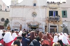 """Conclusa la processione dei """"Cinque Misteri"""" a Molfetta"""