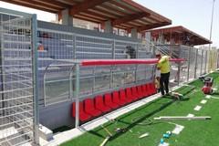 """Ecco le prime foto del nuovo Campo Sportivo """"B. Petrone"""" di Molfetta"""