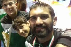 Il molfettese Tommaso Cilardi in Georgia per i Mondiali veterani di lotta libera