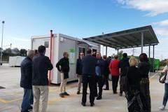 Inaugurata la terza isola ecologica a Molfetta