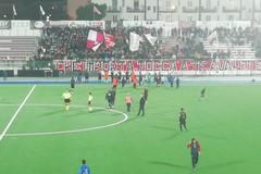 Tifo in festa al Paolo Poli, il derby è della Molfetta Calcio