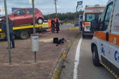 Incidente sulla 16 bis all'ingresso di Bisceglie Sud verso Molfetta