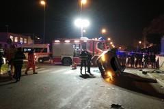 Incidente shock in via Salvemini, un ferito. Coinvolta un'Audi: in fuga gli occupanti