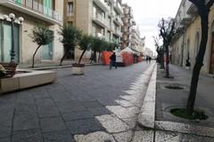 Cantieri nel centro di Molfetta, il Comune annuncia i tempi di fine lavori. Ma è polemica