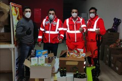 Coronavirus, solidarietà: raccolti beni alimentari per il Sermolfetta
