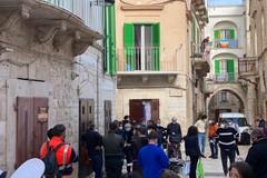 Tra Duomo e centro storico, oggi le ultime riprese a Molfetta della fiction RAI con Bocci
