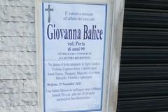 """Molfetta piange Giovanna Balice, """"la signora dei bottoni"""""""