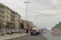 Brutto incidente su via Achille Salvucci. Coinvolto anche un ciclista