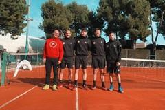 Domani via alla Serie C maschile di tennis per il Country Club Molfetta