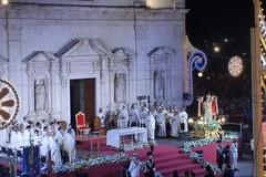 Festa patronale, il simulacro della Madonna dei Martiri in Corso Dante