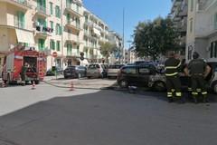 Due auto in fiamme a Molfetta: arrivano i Vigili del Fuoco
