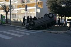 Incidente in via Pio La Torre. Ferito il conducente.