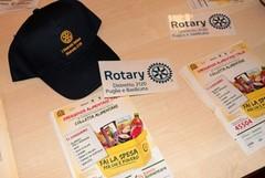 Il Governatore Rotary Luigi Palombella in prima linea per la Giornata nazionale della colletta alimentare