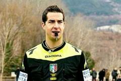 Giovanni Ayroldi designato come quarto uomo per Milan-Sampdoria