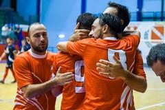 Emozioni forti al PalaPoli: il derby tra Aquile Molfetta e Giovinazzo finisce 5-5