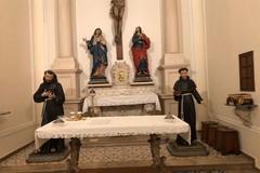 Nella Chiesa di San Bernardino restaurati l'altare e le statue di San Francesco e Sant'Antonio