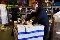 Coronavirus, sequestrate mascherine: finanzieri di Molfetta in trasferta a Terlizzi