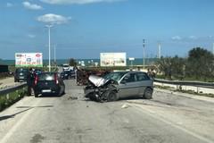 Incidente presso Cola Olidda: un mezzo si ribalta, altri due coinvolti