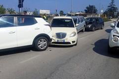 Incidente sulla strada Molfetta-Terlizzi con diverse auto coinvolte