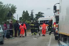 Scontro sulla provinciale per Terlizzi: grave un motociclista