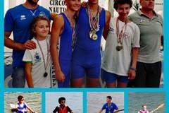 Nove medaglie e cinque titoli nazionali per la Lega Navale di Molfetta ai campionati di canoa giovani