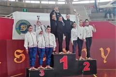 La Ginnastica Ritmica Iris di Molfetta vince con la squadra Gold Allieve