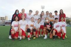 La Molfetta Calcio femminile in campo contro Fesca Bari
