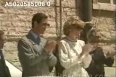 Lady Diana e Carlo in visita a Molfetta